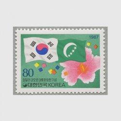 韓国 1987年コモロ大統領訪韓