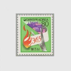 韓国 1989年防災
