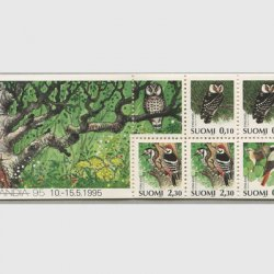 フィンランド 1993年鳥 切手帳