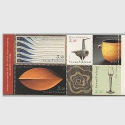 フィンランド 2000年フィンランドデザイン 切手帳