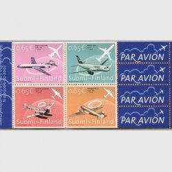フィンランド 2003年フィンランド航空80年 切手帳