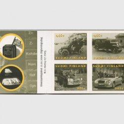 フィンランド 2006年タクシー100年 切手帳