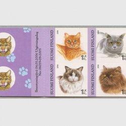 フィンランド 2006年猫 切手帳