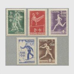 フィンランド 1945年スポーツ5種