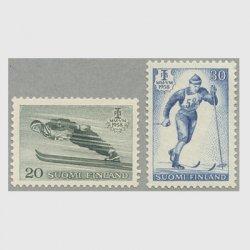 フィンランド 1958年Lahti国際ノルディックスキー大会2種
