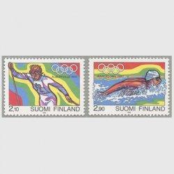 フィンランド 1992年アルベール冬季・バルセロナ夏季オリンピック2種