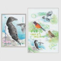 フランス 2021年島の鳥
