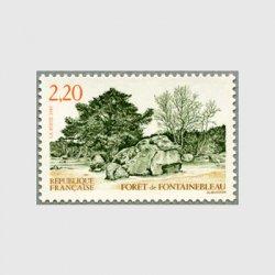 フランス 1989年フォンテタブローの森