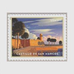 アメリカ 2021年優先切手「サンマルコス砦」