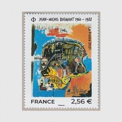 フランス 2021年美術切手ジャン・ミシェル・バスキア