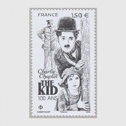 フランス 2021年チャップリンの映画「キッド」100年