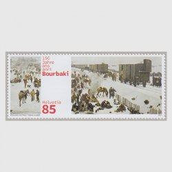 スイス 2021年ブルバキ軍のスイス越境、逗留150年