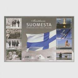 フィンランド 2007年独立90年 ミニチュアシート