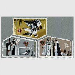 マルタ 1968年クリスマス3種