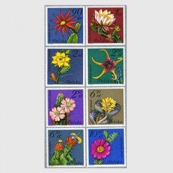 ポーランド 1981年サボテンの花8種