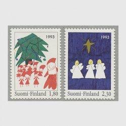 フィンランド 1993年クリスマス2種