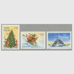 フィンランド 1998年クリスマス3種