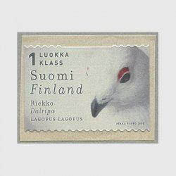 フィンランド 2000年ライチョウ(※台紙に少難)