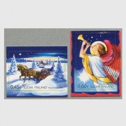 フィンランド 2002年クリスマス2種