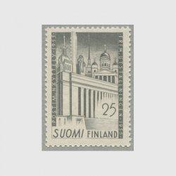 フィンランド 1955年フィンランド総合庁舎(兼;ヘルシンキ切手展入場券)