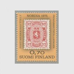 フィンランド 1975年Nordia '75 切手博覧会(兼;切手展入場券)