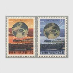 フィンランド 1990年電気通信切手2種