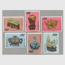 台湾 1969年故宮の宝物6種