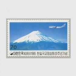韓国1985年韓・日国交正常化20年70w