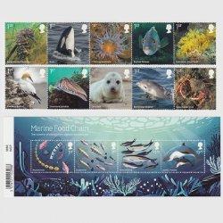 イギリス 2021年海洋生物