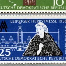 東ドイツ 1958年ライプチヒ見本市ラムコート2種