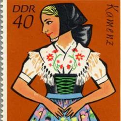 東ドイツ 1971年舞踊衣装4種