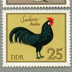東ドイツ 1979年ニワトリ6種