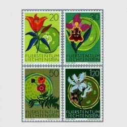 リヒテンシュタイン 1970年蘭など4種