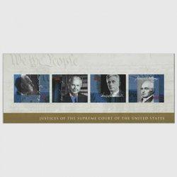 アメリカ 2009年最高裁判事・小型シート