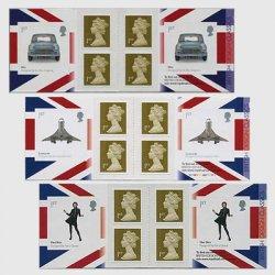 イギリス 2009年ブリティッシュデザインクラシック・切手帳