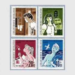 ベルリン 1960年タンポポの綿毛を吹く少女など4種