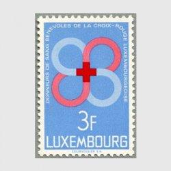 ルクセンブルグ 1968年赤十字