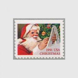 アメリカ 1991年手紙を書くサンタクロース