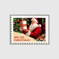 アメリカ 1991年プレゼントを運ぶサンタクロース