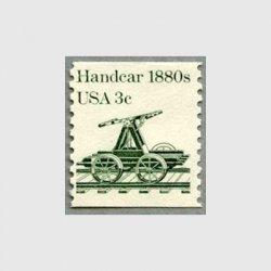 アメリカ 1983年輸送機関 額面「c」付き 「ハンドカー」