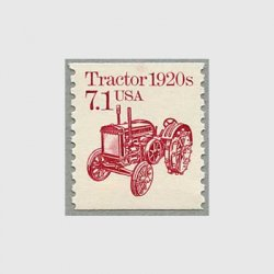 アメリカ 1987年輸送機関 額面「c」なし「トラクター」