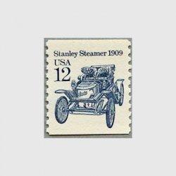 アメリカ 1985年輸送機関 額面「c」なし「蒸気自動車」