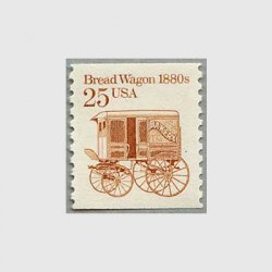 アメリカ 1986年輸送機関 額面「c」なし「パン馬車」