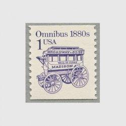 アメリカ 1986年輸送機関 額面「c」なし「乗合馬車」