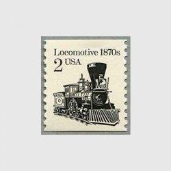 アメリカ 1987年蒸気機関車