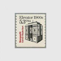 アメリカ 1988年エレベーター