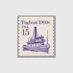 アメリカ 1988年輸送機関 額面「c」なし「タグボート」