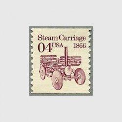 アメリカ 1991年輸送機関 額面「c」なし「蒸気車」