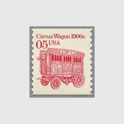 アメリカ 1990年輸送機関 額面「c」なし「サーカス馬車」