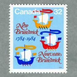 カナダ 1984年ニューブラウンズウィック州200年
